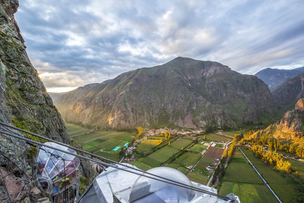 Am Fluss Urubamba liegt auch Machu Picchu