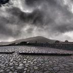 Wolken über Observatorium