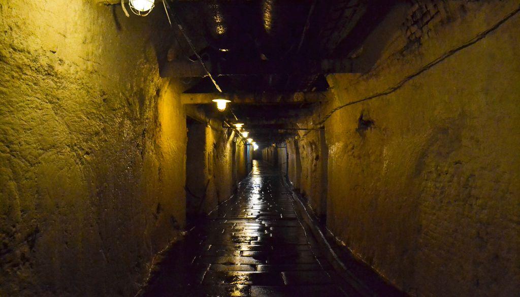 Beeindruckendes Tunnel-Netzwerk liegt unter der Urquell-Brauerei
