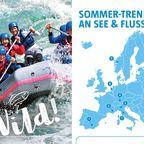 Sommer-Trends an See & Fluss