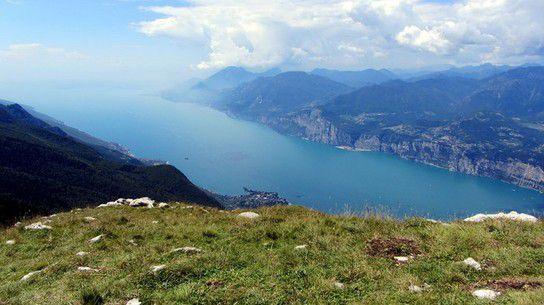 Lago di Garda vom Monte Baldo