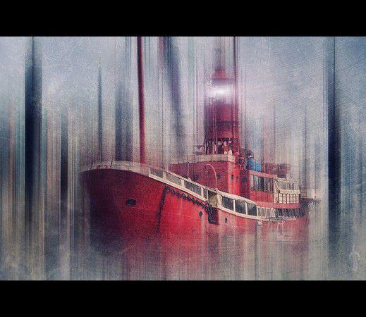 Das englische Feuerschiff LV 13