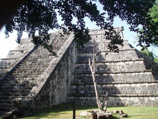 Pyramide von Itchen Itza