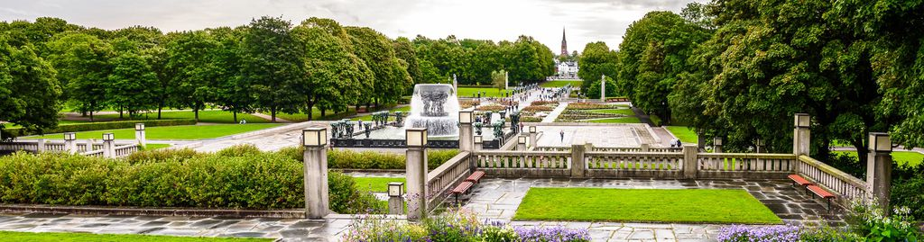 Frogner Park in Norwegen