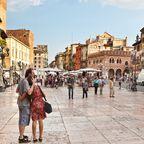 In Verona fand sich das wohl berühmteste Liebespaar der Weltliteratur