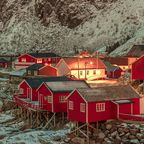 Fischer-Hütte in Norwegen.
