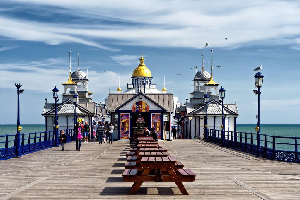 Die schönsten Seebrücken in Europa: Eastbourne Pier