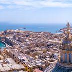 Blick auf die alte Hauptstadt von Valletta