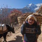 Junges Sherpa Mädchen