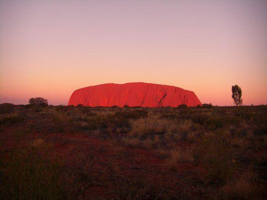 Fernweh, Uluru