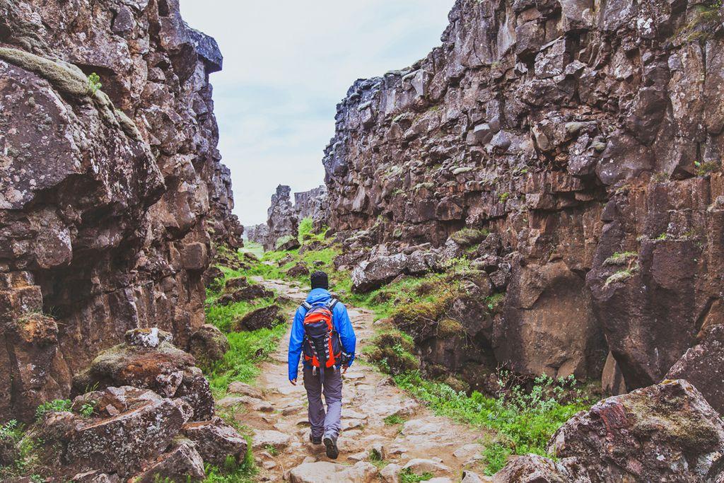 Þingvellir-Nationalpark: Spalte zwischen den Kontinenten