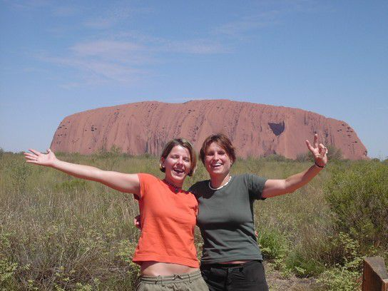 Ayers Rock-Here we are....