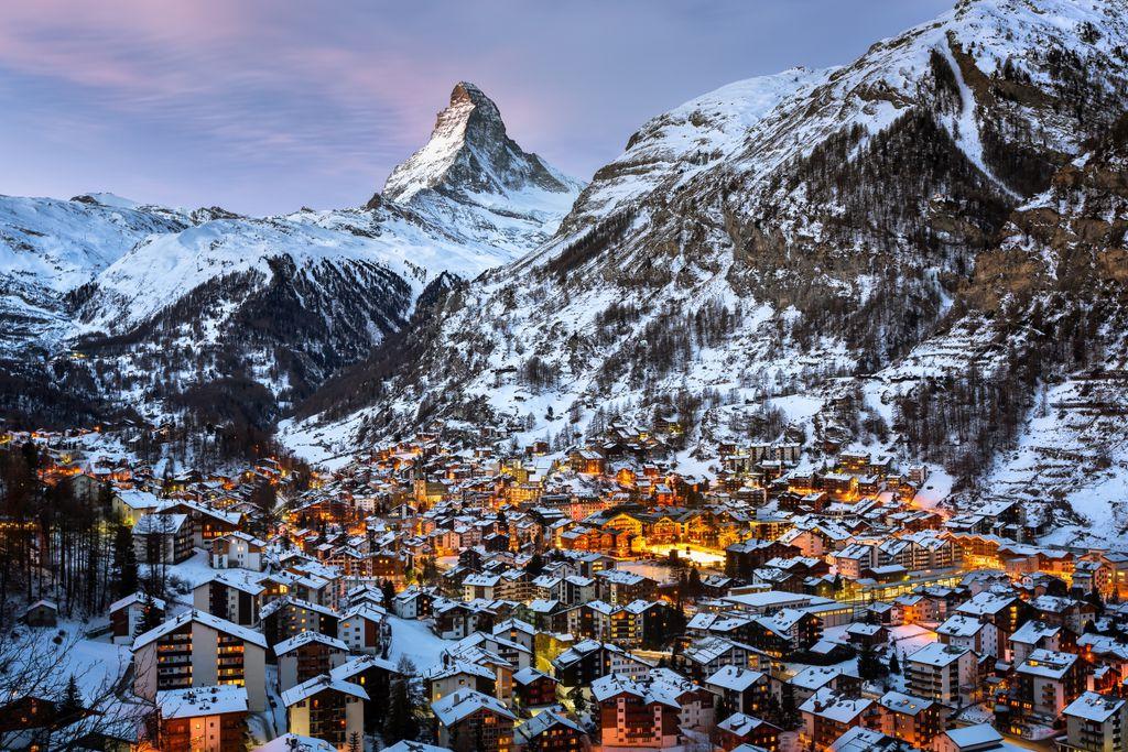 Platz 4 der teuersten Skiorte in Europa: Zermatt