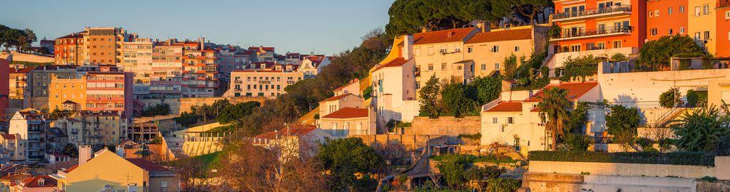 Lissabon bei Sonnenuntergang
