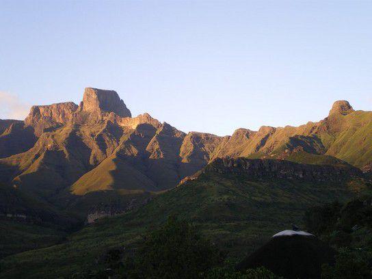 Amhitheatr am frühen Morgen