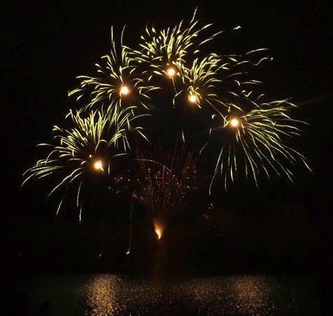 Feuerwerk am Windmühlenbruch