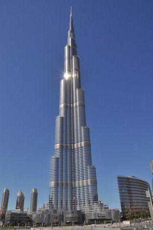 Burj Khalifa 828 m hoch