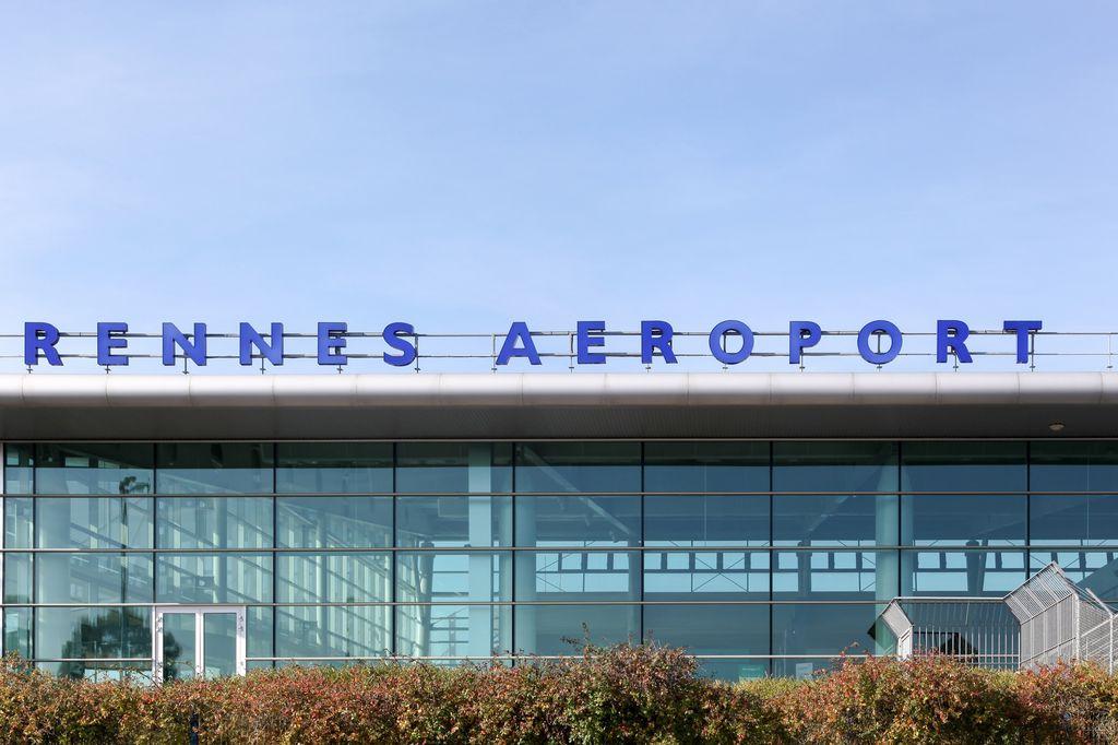 Der Flughafen Rennes