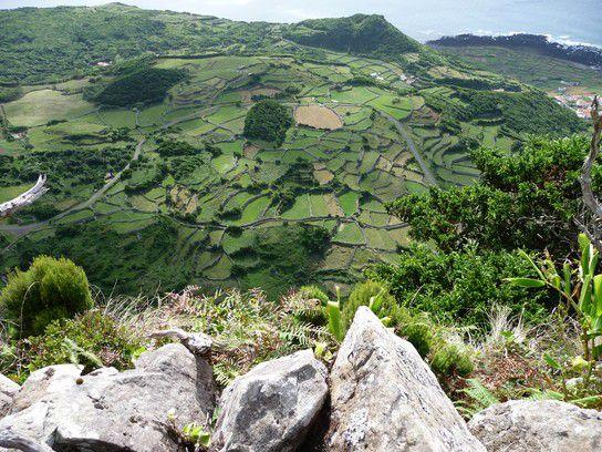 Von oben, Azoren