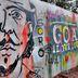 "Graffiti ""Goa I love you"""