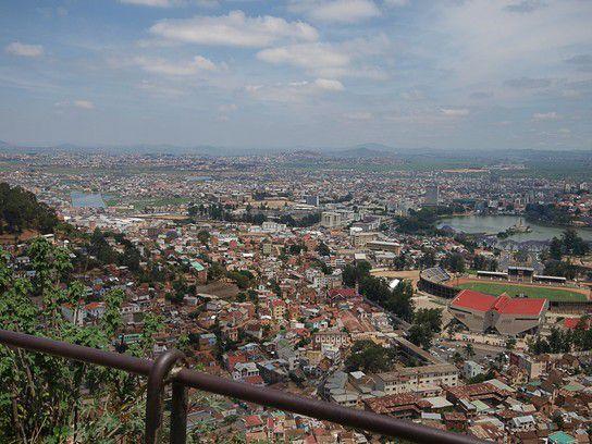 Blick auf Antanananrivo