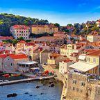 Dubrovnik, die Perle der Adria, liegt im südlichen Dalmatien