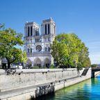 Frühling in Paris: Notre-Dame de Paris