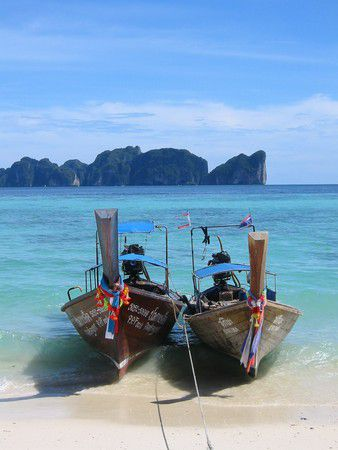 Taxi Boat auf Kho Phi Phi