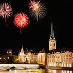 Toller Ausblick: Auf der größten Silvesterparty der Schweiz in Zürich