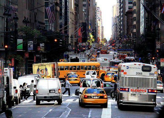 Verkehr in NY