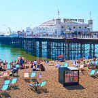 Die schönsten Seebrücken in Europa: Brighton Pier