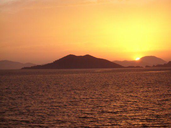 Sonnenuntergang Fethiye