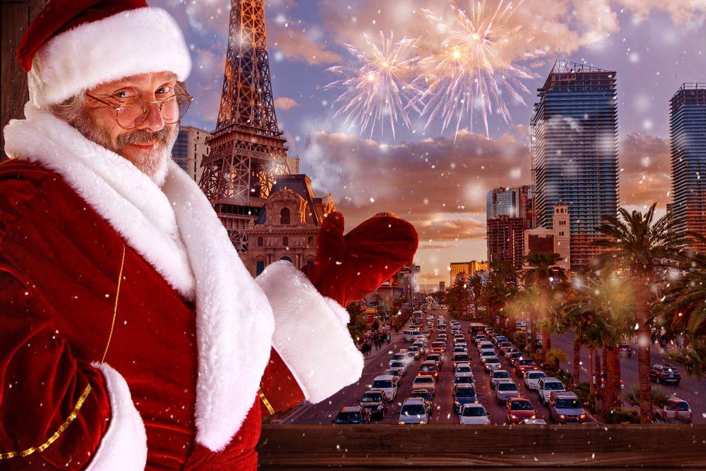 10 tolle Reiseziele zu Weihnachten: Las Vegas