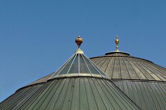 Das Dach vom Elefantenhaus