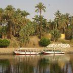 Nil nördlich von Assuan