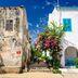 Gebäude auf der Insel Gorée