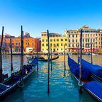 Goldenes Licht lässt sich in Venedig auch im November noch beobachten.