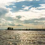 Der Siljan See in Schweden