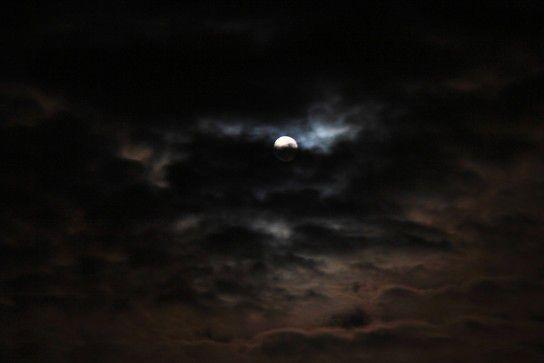 Vollmond-Nacht