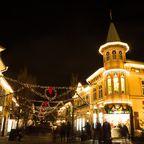Weihnachtsbeleuchtung im Vergnügungspark Liseberg