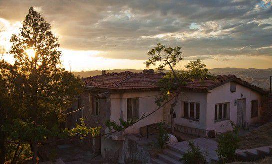 Sonnenuntergang auf Schloss Kalesi 01