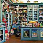 Historischer Laden im Weihnachtshaus Husum