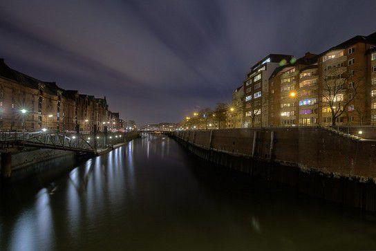 Wasserwege Speicherstadt