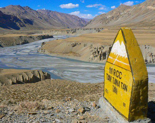 Wegstein auf dem Weg nach Ladakh