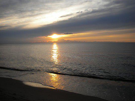 Sonnenuntergang am Baltischen Meer