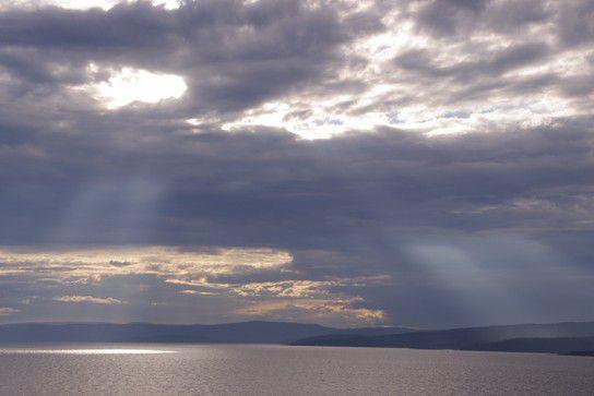 Himmelschauspiel in Norwegen