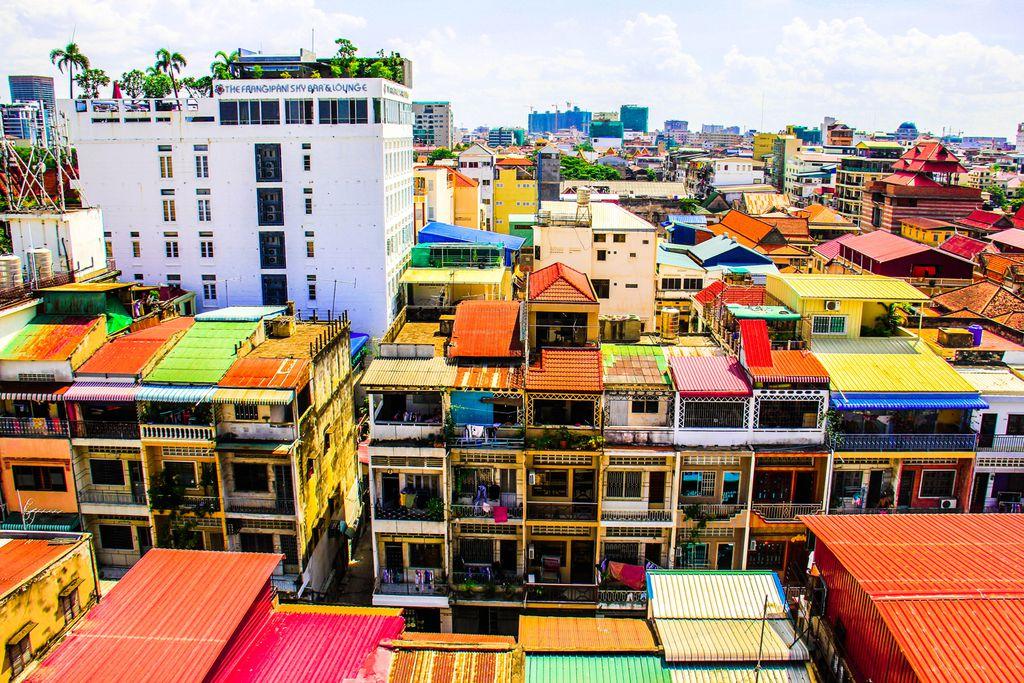 Panorama von Phnom Penh