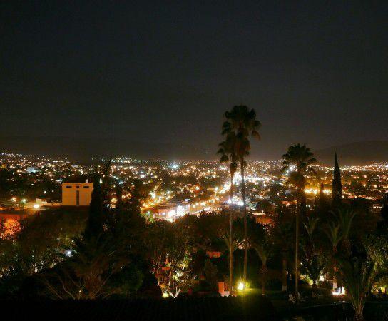 Oaxaca bei Nacht