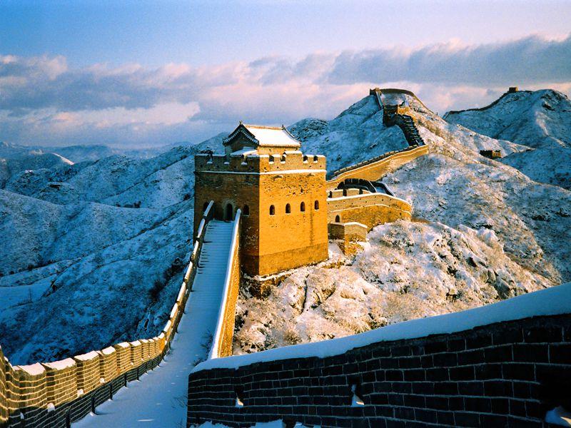 Die Chinesische Mauer ist unglaubliche 20.000 Kilometer lang