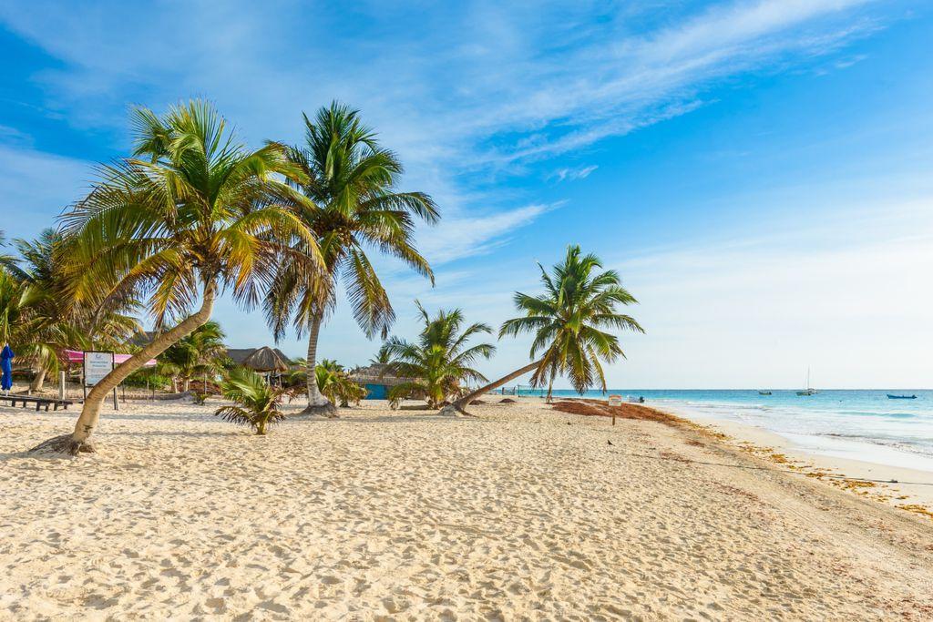 Platz 7 der schönsten Strände der Welt: Playa Paraiso, Mexiko